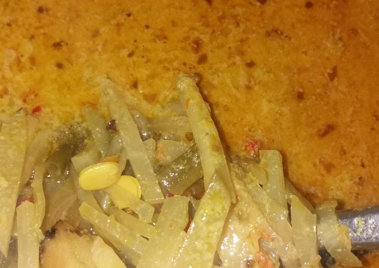 Resep membuat Sayur lodeh manisa,cecek,kacang panjang ulala😙😙😙