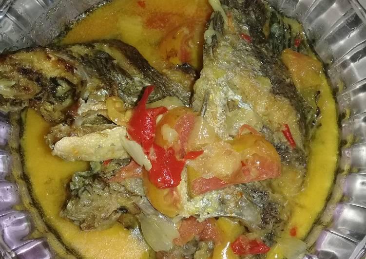 Resep: Ikan nila masak santan