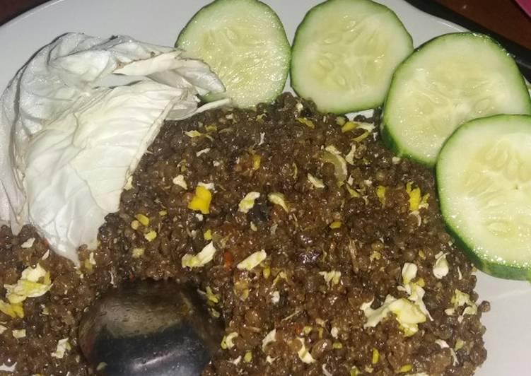 Resep mengolah Tiwul goreng sederhana