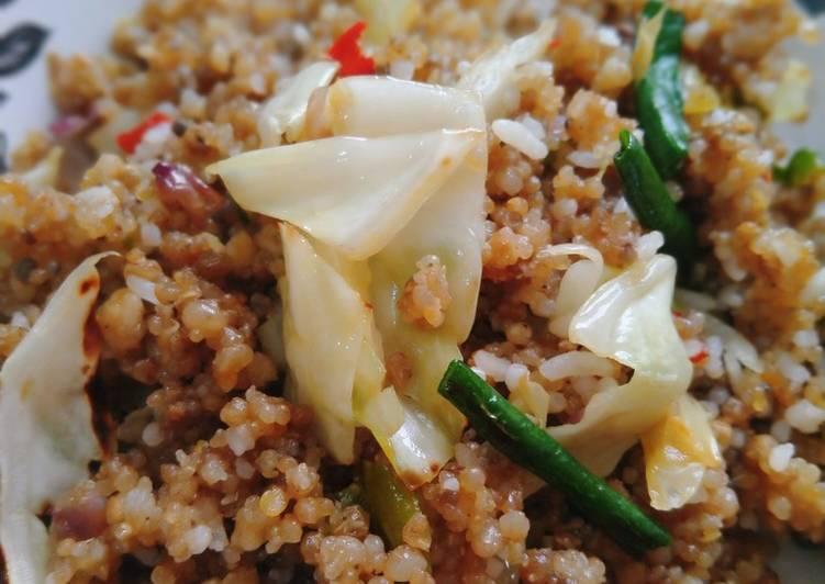 Resep: Nasi goreng tiwul