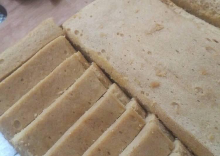 Resep memasak Tiwul ayu