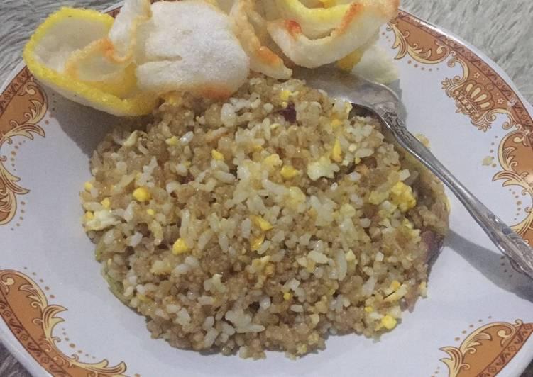 Resep membuat Nasi tiwul goreng istimewa