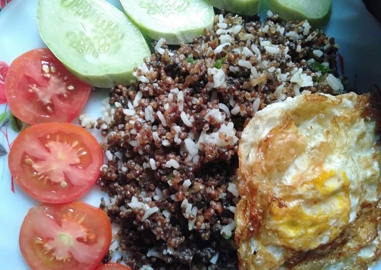 Resep: #5resepterbaruku nasi goreng tiwul jawa istimewa
