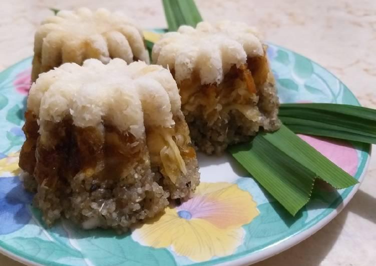 Resep: Tiwul lapis sawut + step by step