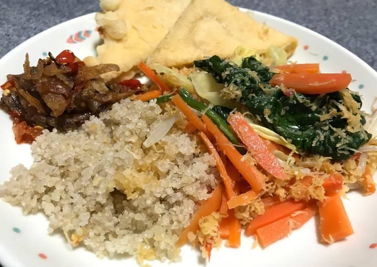 Resep: Nasi tiwul (Komplit) #SelasaBisa