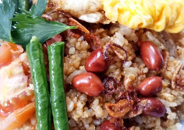 Cara Mudah memasak Nasi goreng tiwul