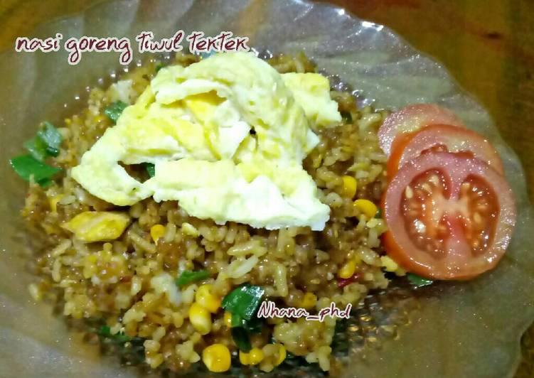 Cara membuat Nasi goreng tiwul tektek istimewa