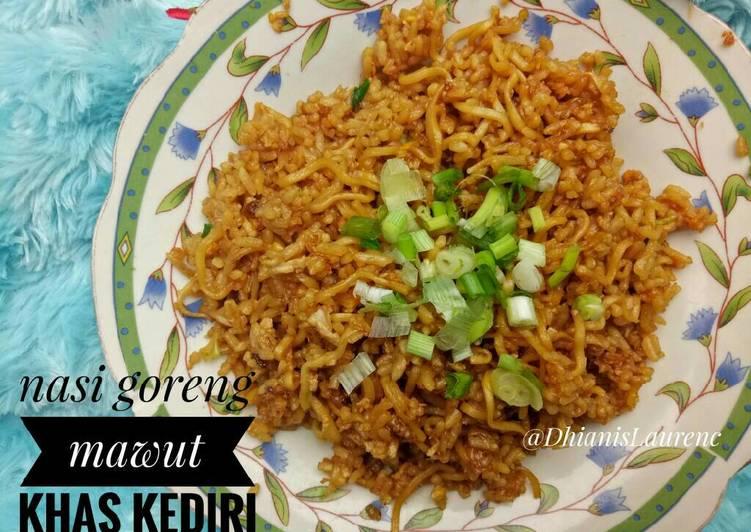 Resep: Nasi goreng mawut khas kediri / fried rice / nasgor lezat