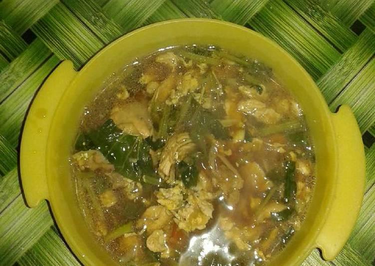Cara Mudah membuat Nasi sop ayam kediri