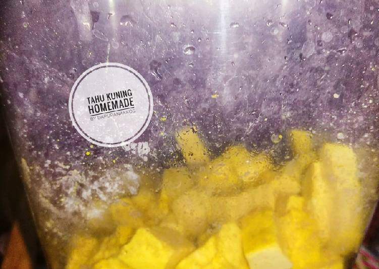 Resep: Tahu kuning homemade