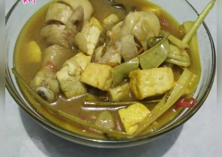 Resep: Opor ayam tahu kuning indofood enak