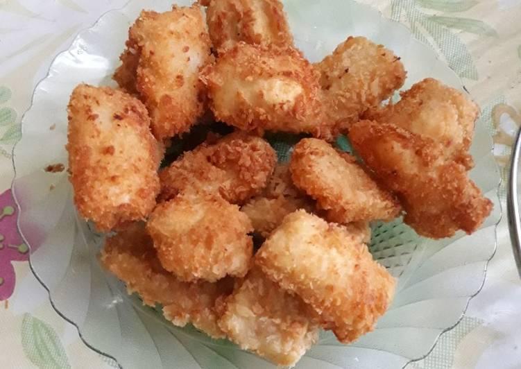 Cara Mudah membuat Tahu stick crispy istimewa