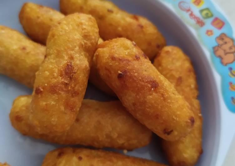 Resep: Stik kekeworth *kentang keju wortel tahu