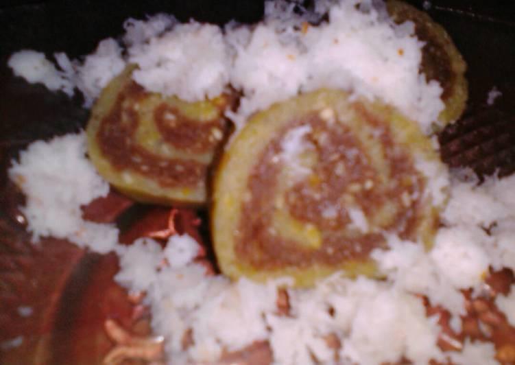 Cara memasak Getuk pisang choco roll