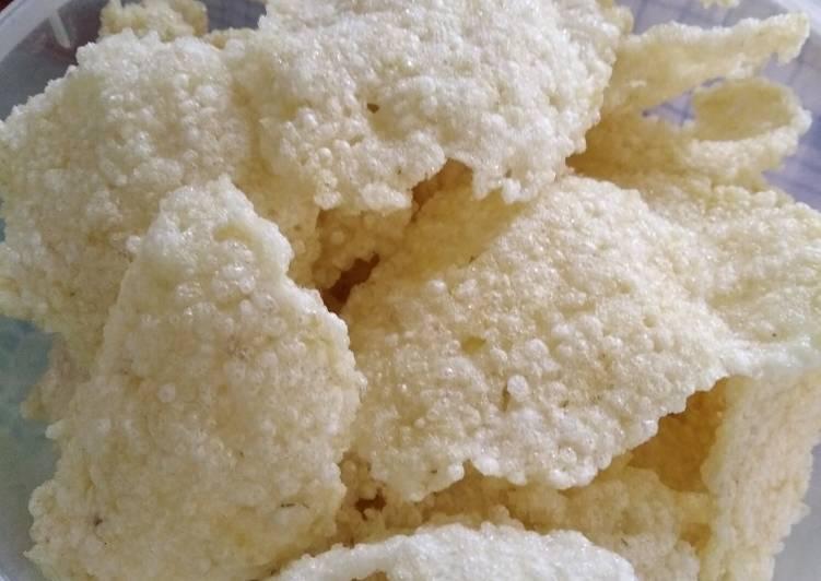 Resep membuat Kerupuk nasi (puli) istimewa