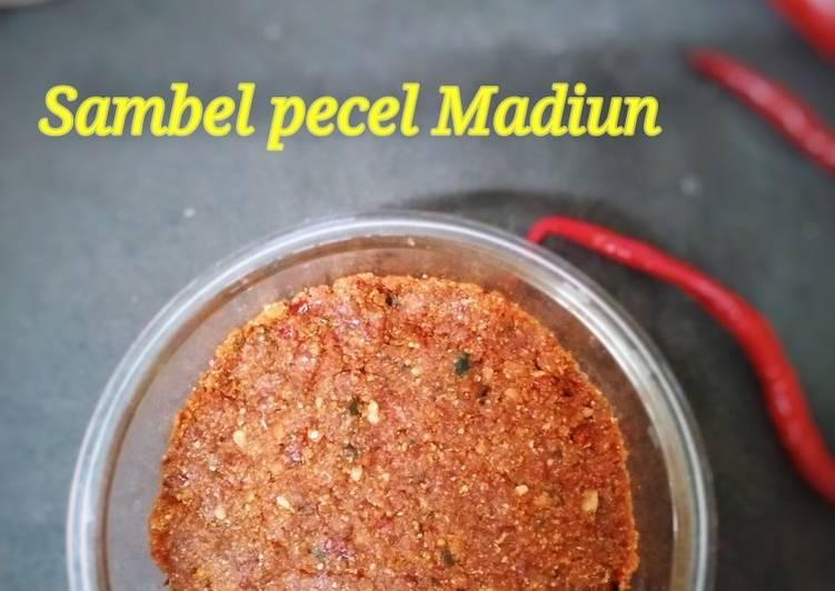 Cara membuat Sambel pecel Madiun