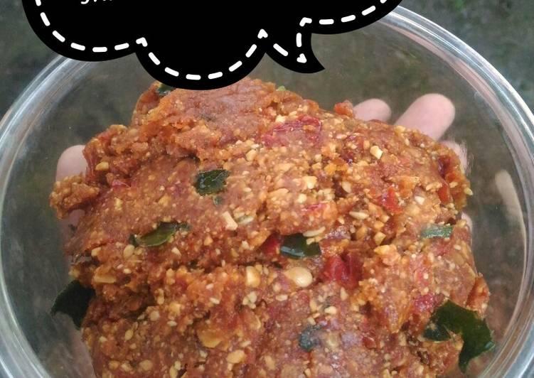 Resep: Sambel pecel Madiun (sambel kacang)2 enak
