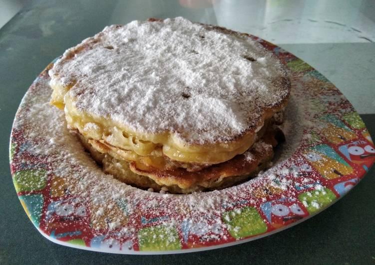 Resep mengolah Lempeng (pancake)Labu Kuning enak