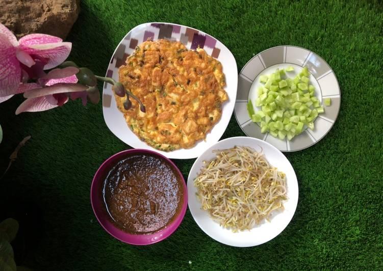 Cara Mudah membuat Tahu telor bumbu kacang khas malang jawatimuran enak