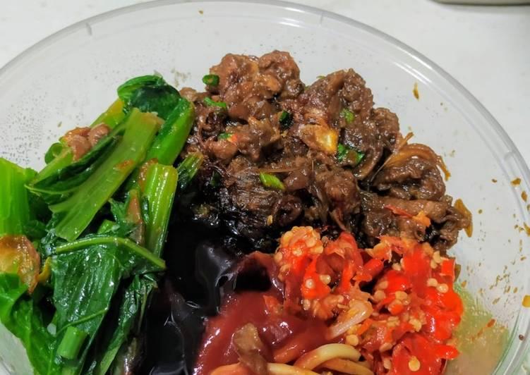 Cara memasak Mie ayam malang