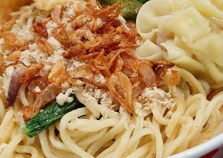 Resep: Pangsit mie Ayam khas Malang
