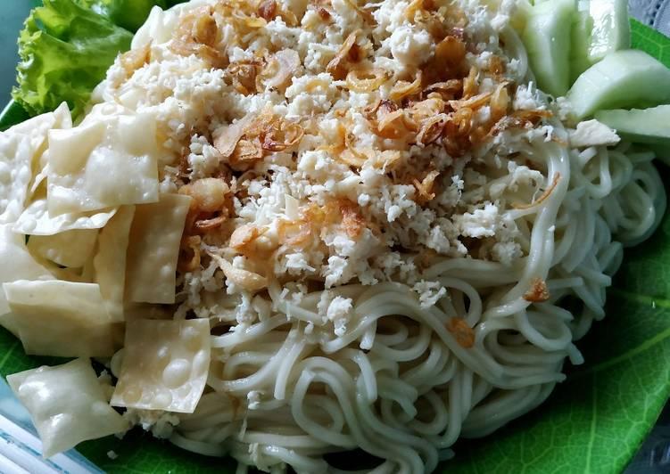Cara membuat Mie apong/mie ayam malang lezat