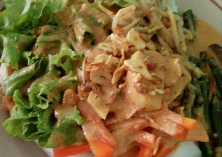 Resep memasak Gado gado malang istimewa