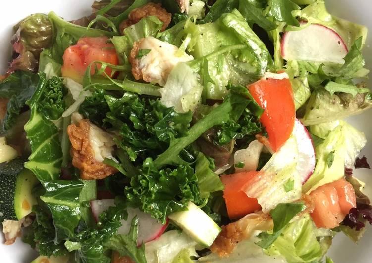 Cara Mudah memasak Salad sayur atau gado-gado bule hehe istimewa