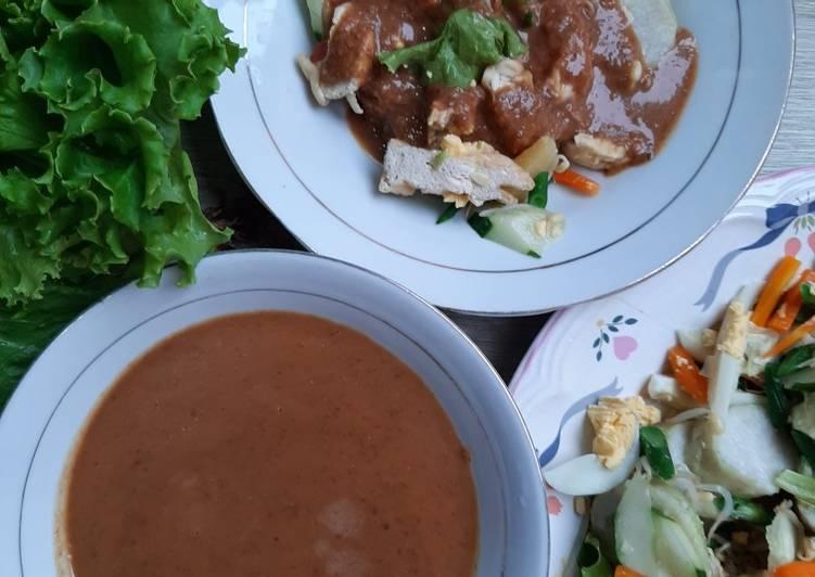 Resep membuat Gado-gado Surabaya enak