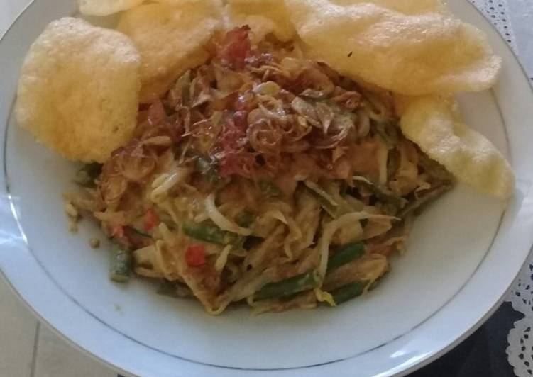 Cara memasak Gado-gado (lotek) enak