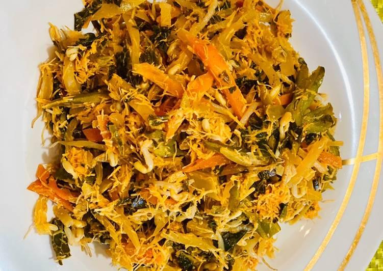 Resep membuat Sayur gado-gado atau urap enak