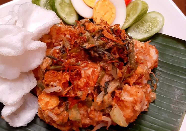 "Resep memasak Lotek/Gado gado ""Sundanese Salad"" istimewa"