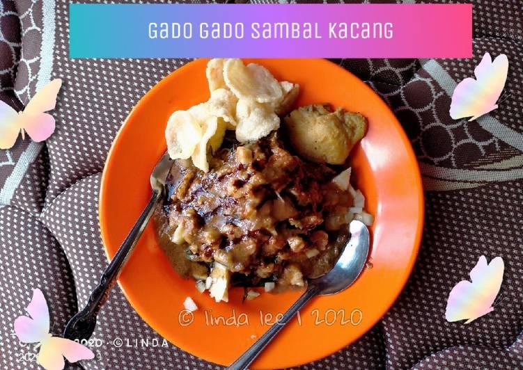 Resep: Gado Gado sambal Kacang