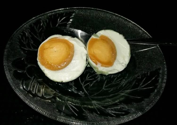 Cara Mudah mengolah Telur asin ala kimi lezat