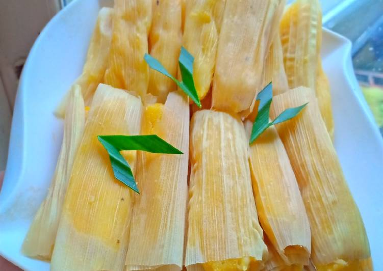 Resep: Lepet jagung