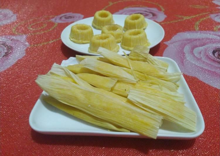 Resep: Lepet/lapek jagung