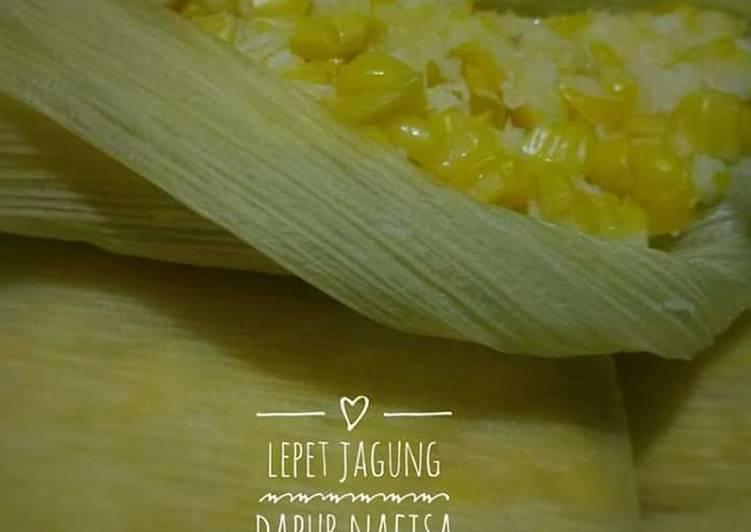 Resep: Lepet jagung lezat
