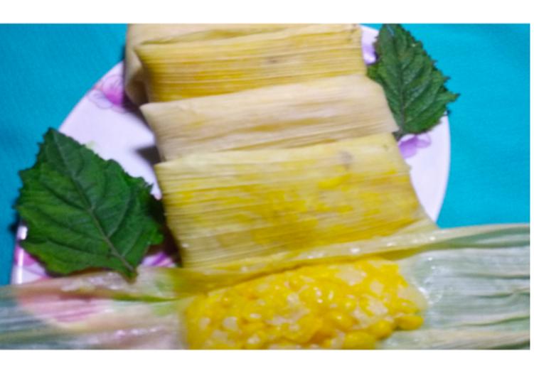 Resep membuat Lepet jagung manis