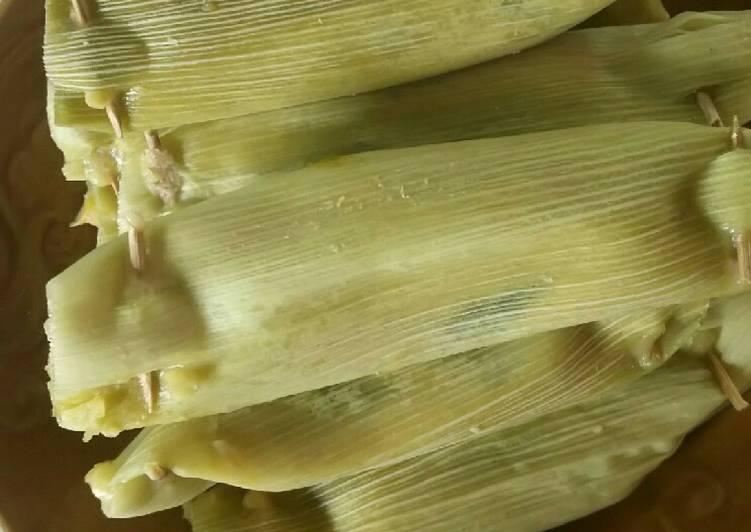 Cara Mudah membuat Lepet jagung