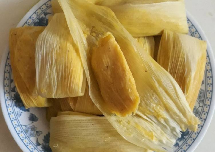 Resep: Lepet jagung enak