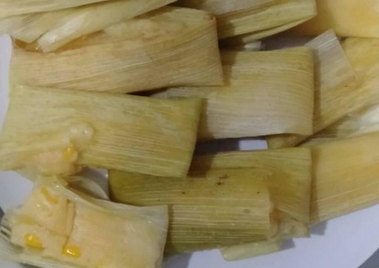 Resep memasak Lepet jagung manis