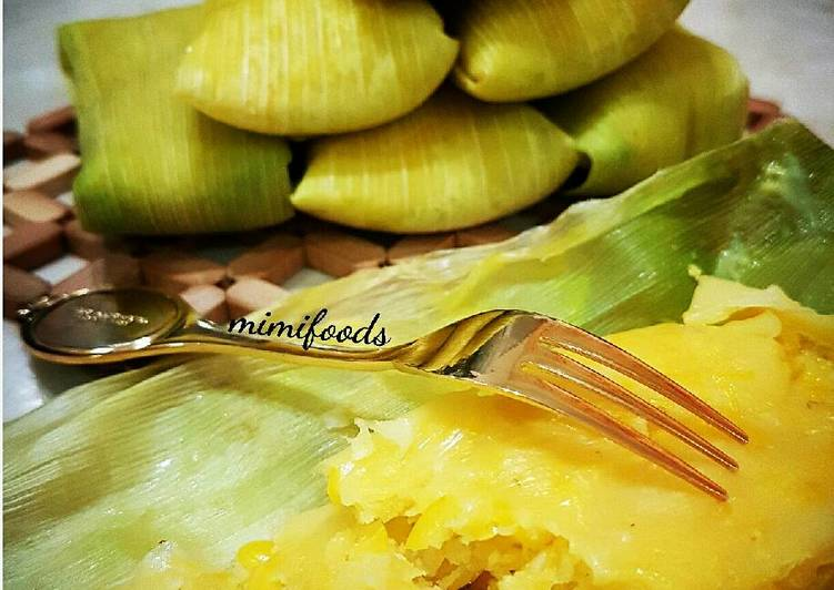 Resep mengolah Lepet jagung lezat