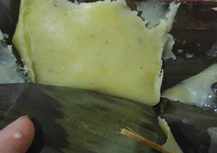 Resep: Lapek jagung/ lepat jagung