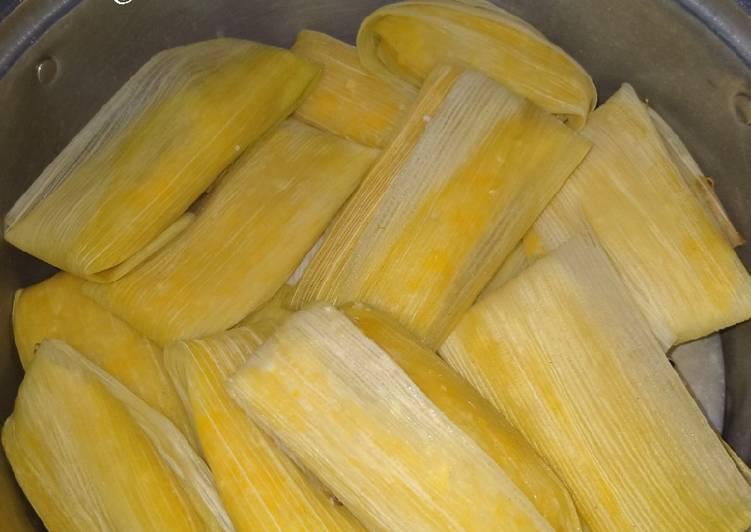 Resep: Lepet jagung ✓ istimewa