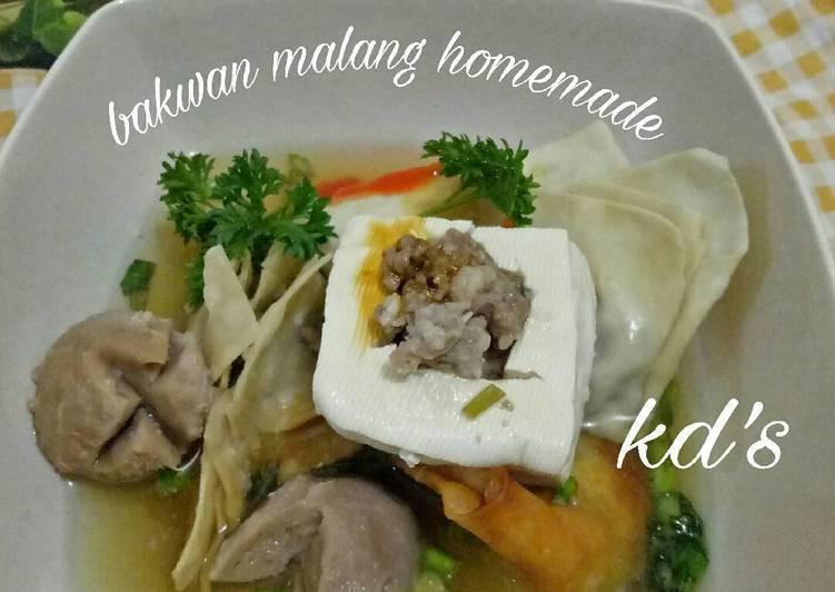 Cara memasak Bakwan malang homemade