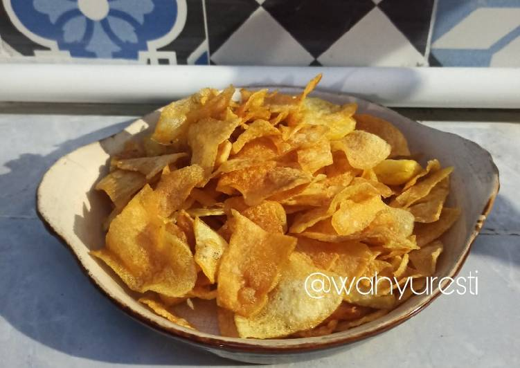 Resep: Chips (Potato chips ekonomis)