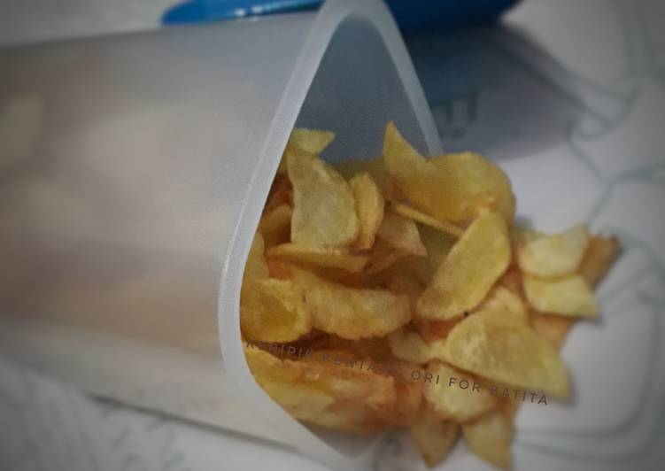 Resep: Keripik kentang ori for batita