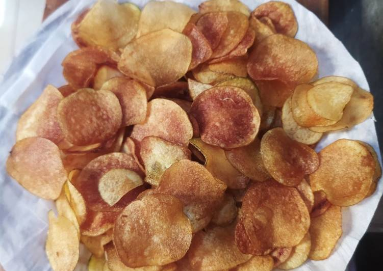 Resep memasak Keripik kentang lezat