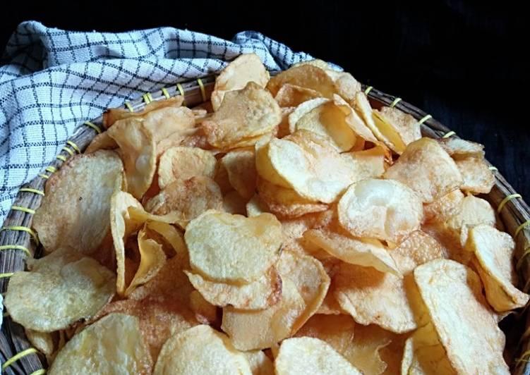 Resep: Keripik kentang