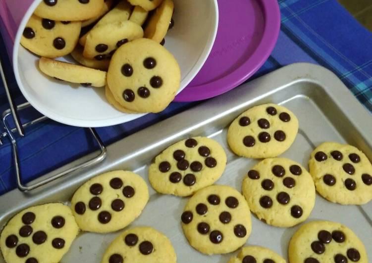 Resep: Cookies chooco chips